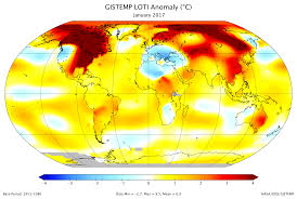 World Temperatures Map by Press Releases U0026 Feature Stories Archive Goddard Institute For