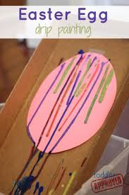 Easter Egg Decorating Ideas Preschool by Best 25 Drip Painting Ideas On Pinterest Painting Pots Paint