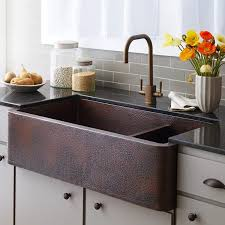 kitchen sinks beautiful farmhouse sink with faucet holes granite