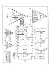 a frame house plans free free a frame cabin plans blueprints construction documents sds