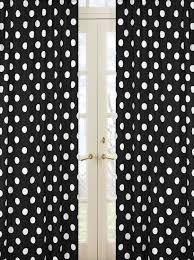 White Polka Dot Sheer Curtains Black And White Polka Dot Print 84 Inch Curtain Panels For Dot