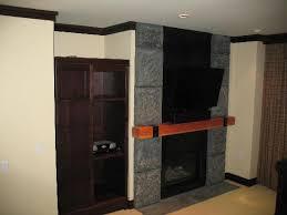 studio fireplace tv closet picture of nita lake lodge