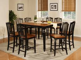 Chair Marble Top Round Dining Table And  Chairs With Sliding - Black dining table for 8