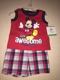infant boy costumes nwt baby boy 3pc disney mickey mouse size newborn 12 99
