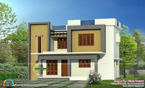 home architecture simple flat roof home architecture kerala home design 2 floor