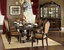dining room table accessories von furniture russian hill formal dining room set