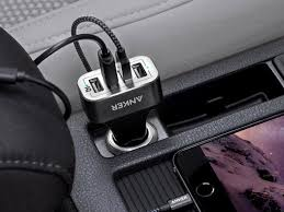 Anker Dual Port Car Charger No Phone Left Behind Charge Four Devices At Once With This 14