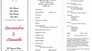 Wedding Program Outline Template 21 Pictures Wedding Program Wording Samples Diy Wedding U2022 25412