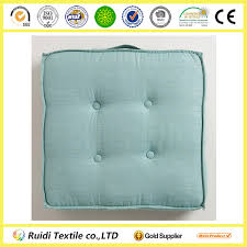 chair pad seat cushion solid color tufted floor cushion view