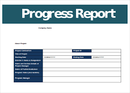 it report template for word progress report templates 22 free word pdf documents