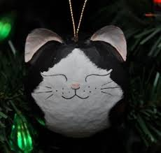 9 best cat tree ornaments images on black
