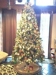 time pre lit 9 woodlake spruce artificial tree