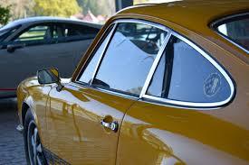 porsche signal yellow porsche 911 t 1972 in signal yellow classic 911 porsche