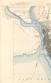 Map Of Buffalo New York by Buffalo Ny Quadrangle