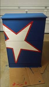 Captain America Bedroom by Captain America Dresser Home Made Jonathan U0027s Room Pinterest