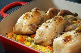 cuisiner caille recette de fêtes cailles rôties miel et épices légumes fondants