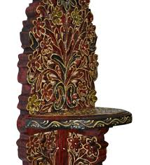 indian wooden wall indian wooden wall shelf vintage shelves carved floral