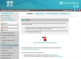 constancias de intereses infonavit 2015 obtén tu aviso de retención de descuentos