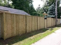 privacy fence backyard fence ideas