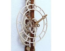 wooden kit duodecimus wooden clock kit