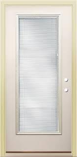 Prehung Steel Exterior Doors Rt 8 Lite Prehung Steel Door With Blinds Between The Glass 36