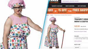 spirit halloween complaints the year u0027s first transphobic halloween costume the