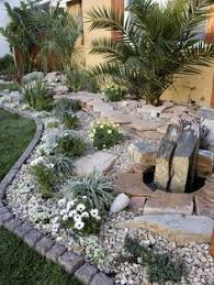 river rock landscape how to make it http www garden design me