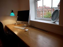 foxy images of modern imac computer desk design and decoration
