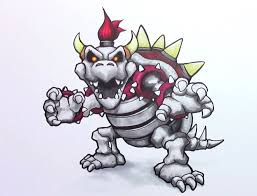 dry bowser drawing dry bowser pinterest bowser