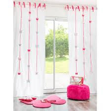 Cotton Tie Top Curtains by