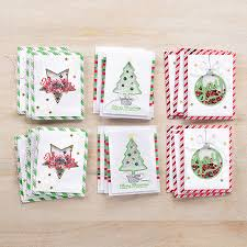 christmas shaker cards space coast stamper