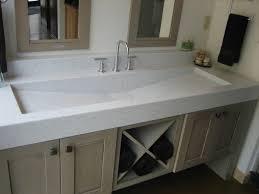 kohler trough bathroom sink home design inspirations