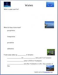 water unit free worksheets on water and water usage homeschool den