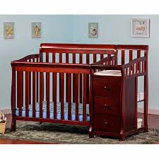 Sorelle Tuscany 4 In 1 Convertible Crib And Changer Combo Baby Crib And Changing Table Combo 9 Images Baby Crib
