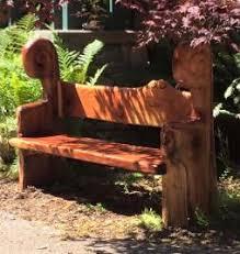 redwood bench j groeschen