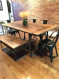 unfinished wood table legs kitchen table legs metal kitchen table metal and wood kitchen table