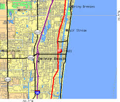 map of delray map of delray fl my