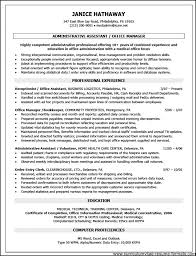 Resume Examples For Medical Office by Office Administration Resume Examples Free Free Samples