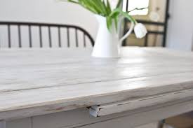 white wash dining room table dining room table transformation part two the lettered cottage