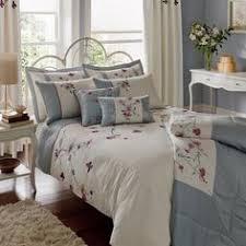 Duck Egg Blue Bed Linen - catherine lansfield duck egg blue king size duvet cover