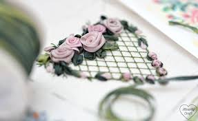 silk ribbon embroidery hearty craft silk ribbon embroidery