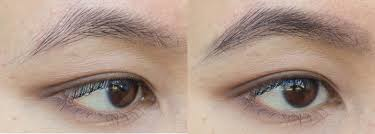 get the brows but better look with essence make me brow portrait