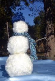 wrap styrofoam balls in yarn secure with glue glue on twigs