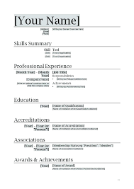 resume format for freshers microsoft word 2007 resume template for word 2007 cover letter free download