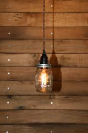 Mason Jar Pendant Light Industrial Mason Jar Pendant Light U2014 Awesome Lighting Ideas