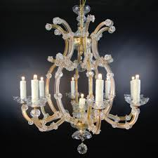 Crystal Chandelier 9 Light Maria Theresa Bohemian Crystal Chandelier From Table M On