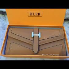 Tas Huer Original dompet huer original preloved fesyen wanita tas dompet di carousell
