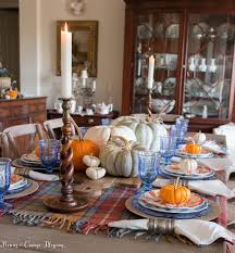 Fall Table Settings Cozy And Fall Table Setting Haus