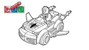 lego batman car coloring pages lego com juniors downloads coloring pages spiderman 2 boom s