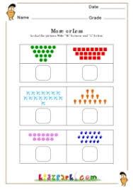 more or less worksheets activity sheets for kids worksheets for